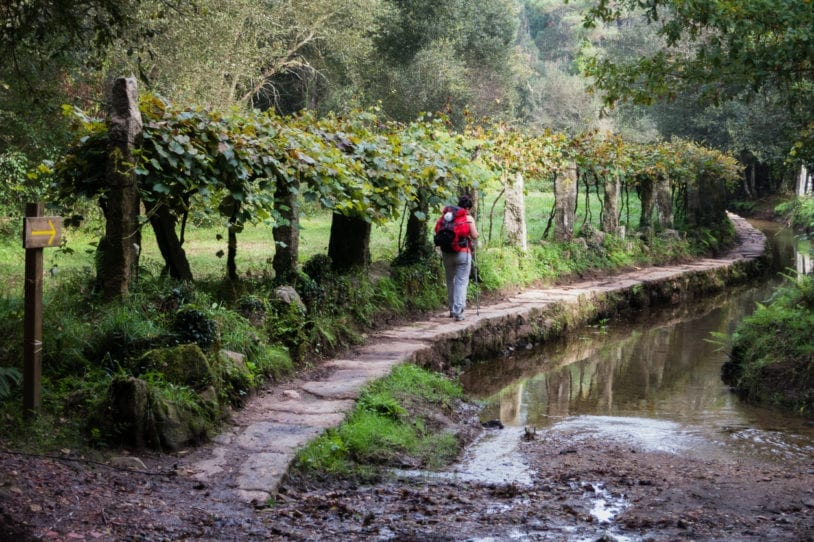 Walking the Camino Portuguese Way women travel groups.